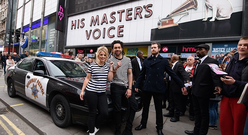 The Shires on the Street
