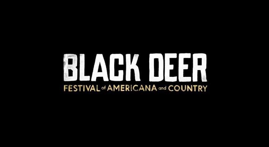 Black Deer Festival Logo